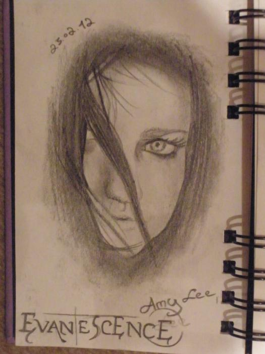 Amy Lee by drawing.my.dreams